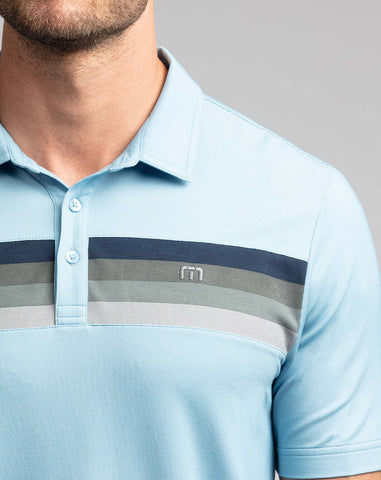 Never Better Polo Blue TravisMathew