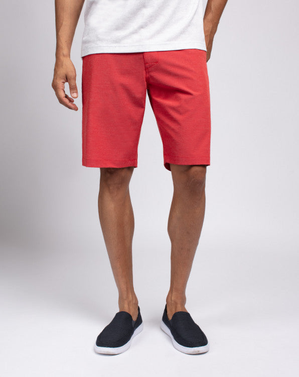TravisMathew Beck Short - Pompeian Red