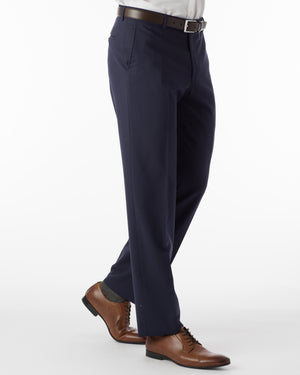 Navy Slim Dress Pant