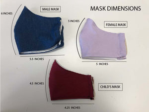 Mask Measurements