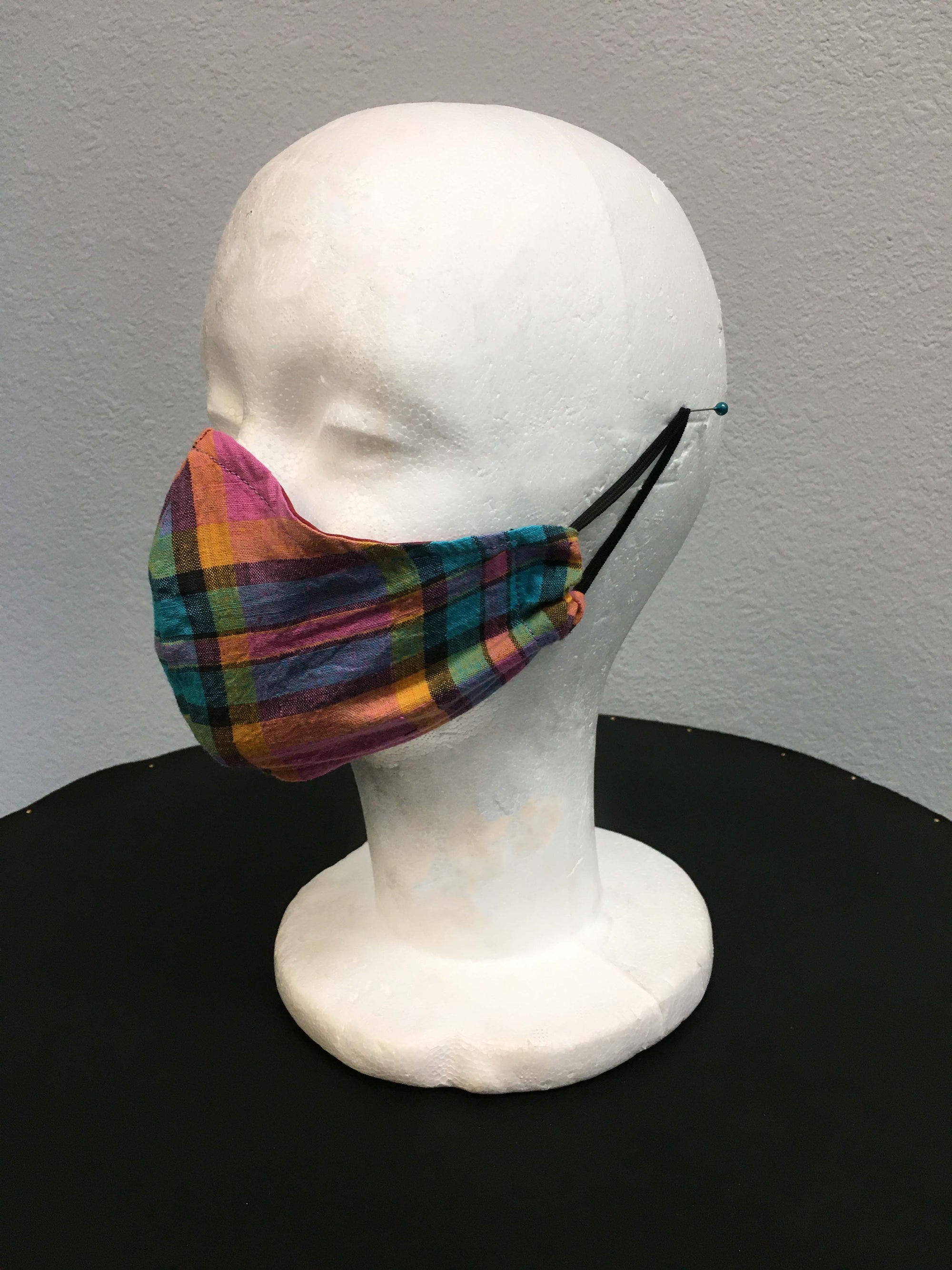 Summer Plaid Mask