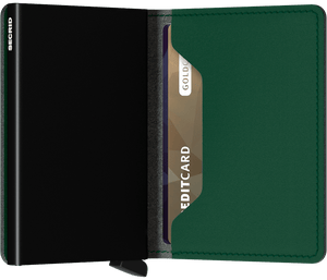 Slimwallet Yard Green | Secrid