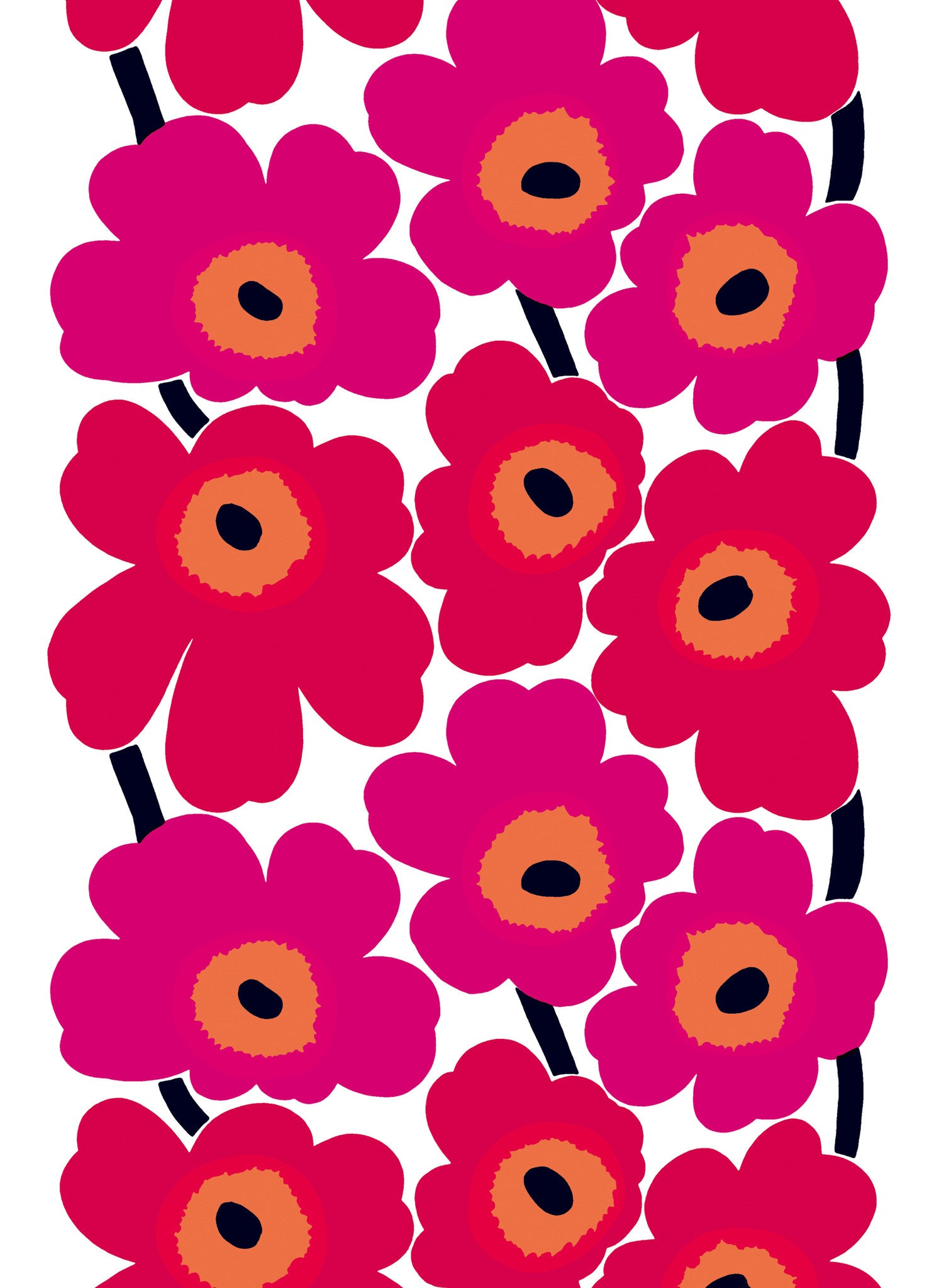 UNIKKO COTTON FABRIC, RED, 1 YD