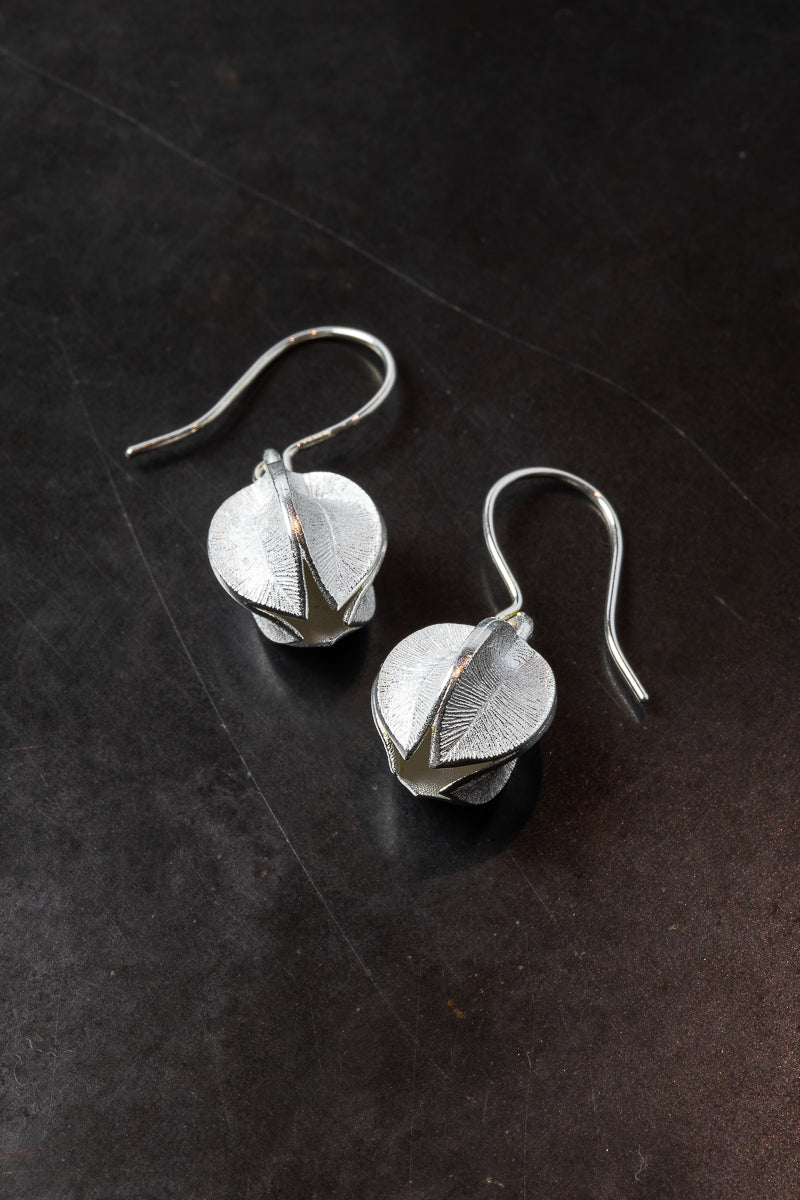 KALEVALA SILVER LUMIKUKKA EARRINGS SHORT
