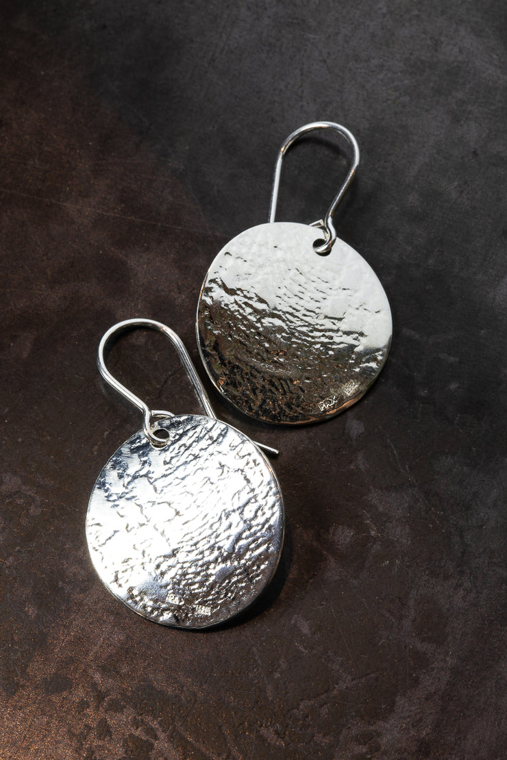 Design Laakso Silver Lace Earrings