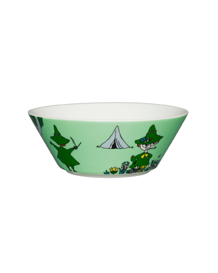 Moomin Bowl Snufkin Green