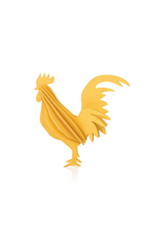 Lovi Rooster 10 cm, Warm Yellow