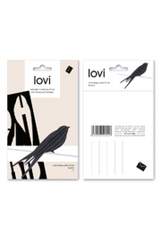Lovi Bird Swallow 10 cm, Light Blue