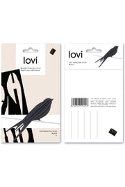 Lovi Bird Swallow 15 cm, Dark Blue