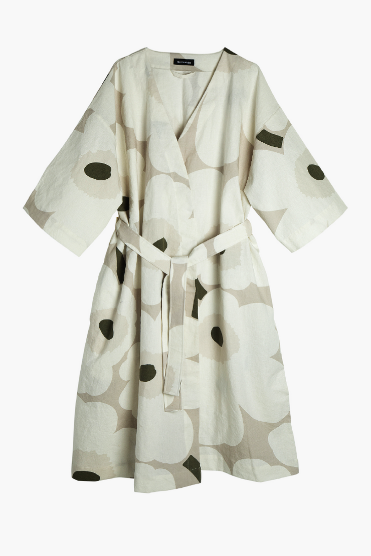 Unikko Cotton/Linen Dressing Gown