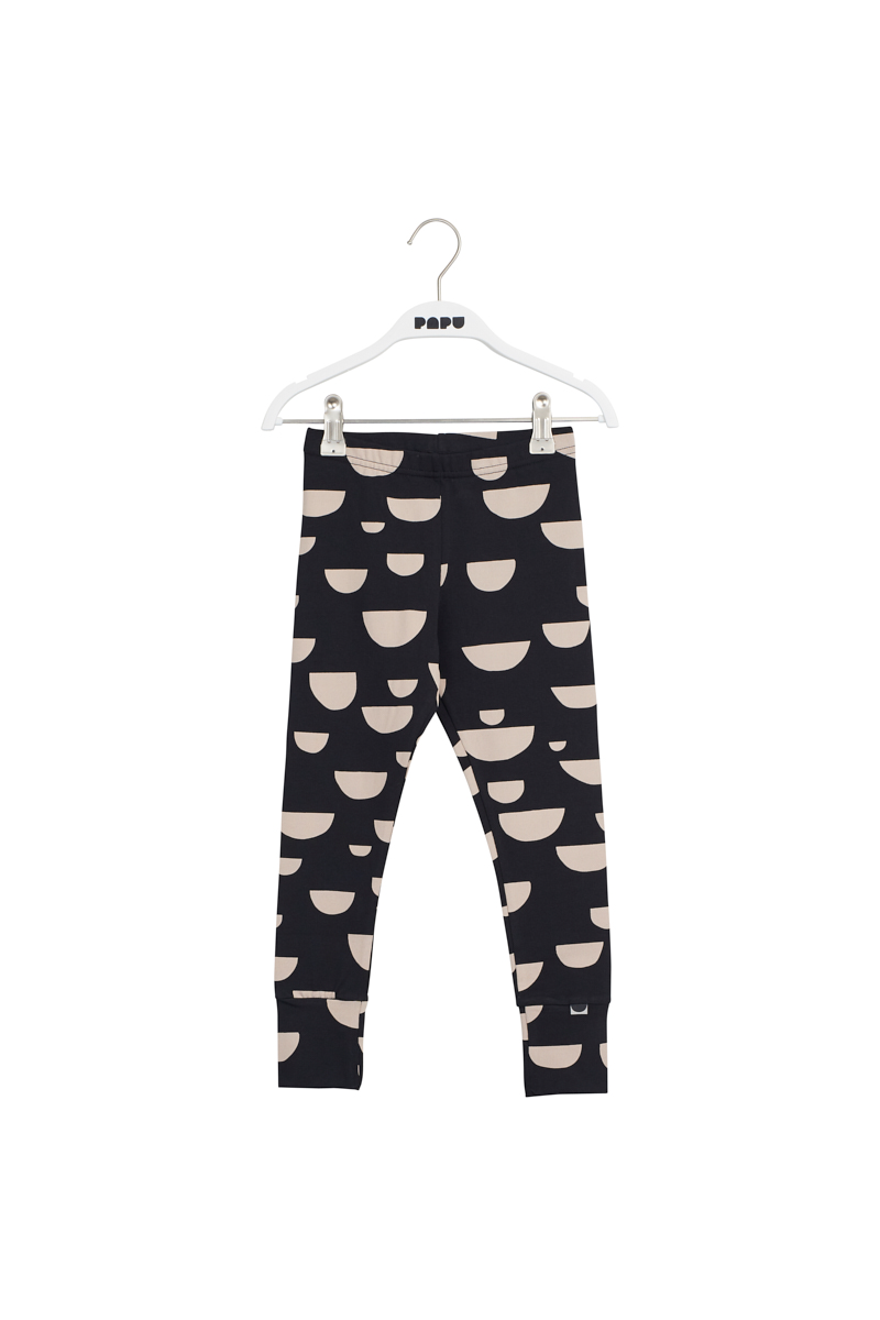PAPU KIDS LEGGINGS, BEANS