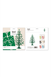 LOVI SPRUCE TREE 30 CM W/ MINI BAUBLES