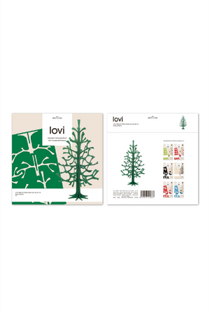 LOVI SPRUCE TREE 25 CM GREY