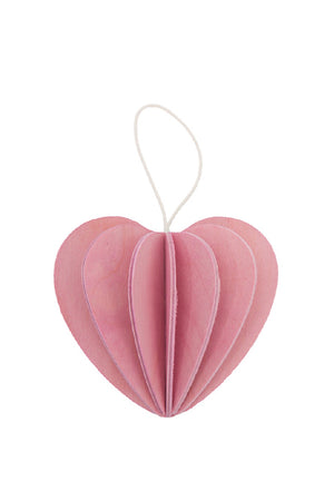 LOVI HEART LIGHT PINK 6.8 CM
