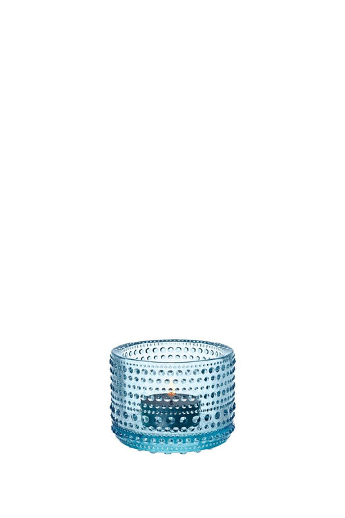 KASTEHELMI TEA LIGHT CANDLEHOLDER LIGHT BLUE