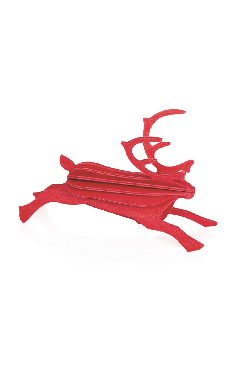 LOVI REINDEER 12 CM BRIGHT RED