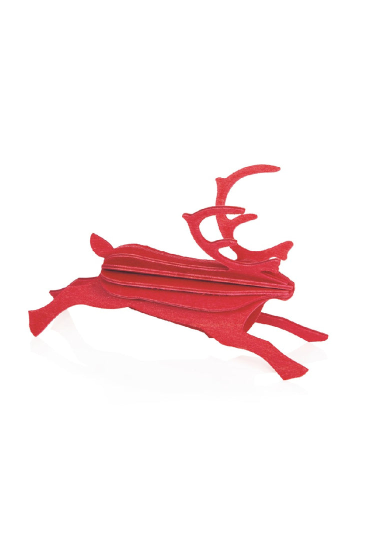 Lovi Reindeer 12 cm, Bright Red