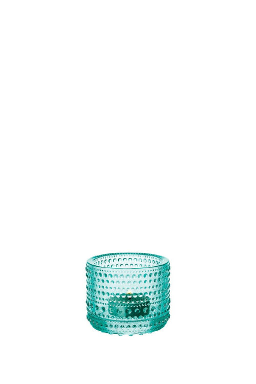 KASTEHELMI TEA LIGHT CANDLEHOLDER WATER GREEN