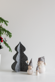 Aarikka Felted Pine Tree, Large Grey