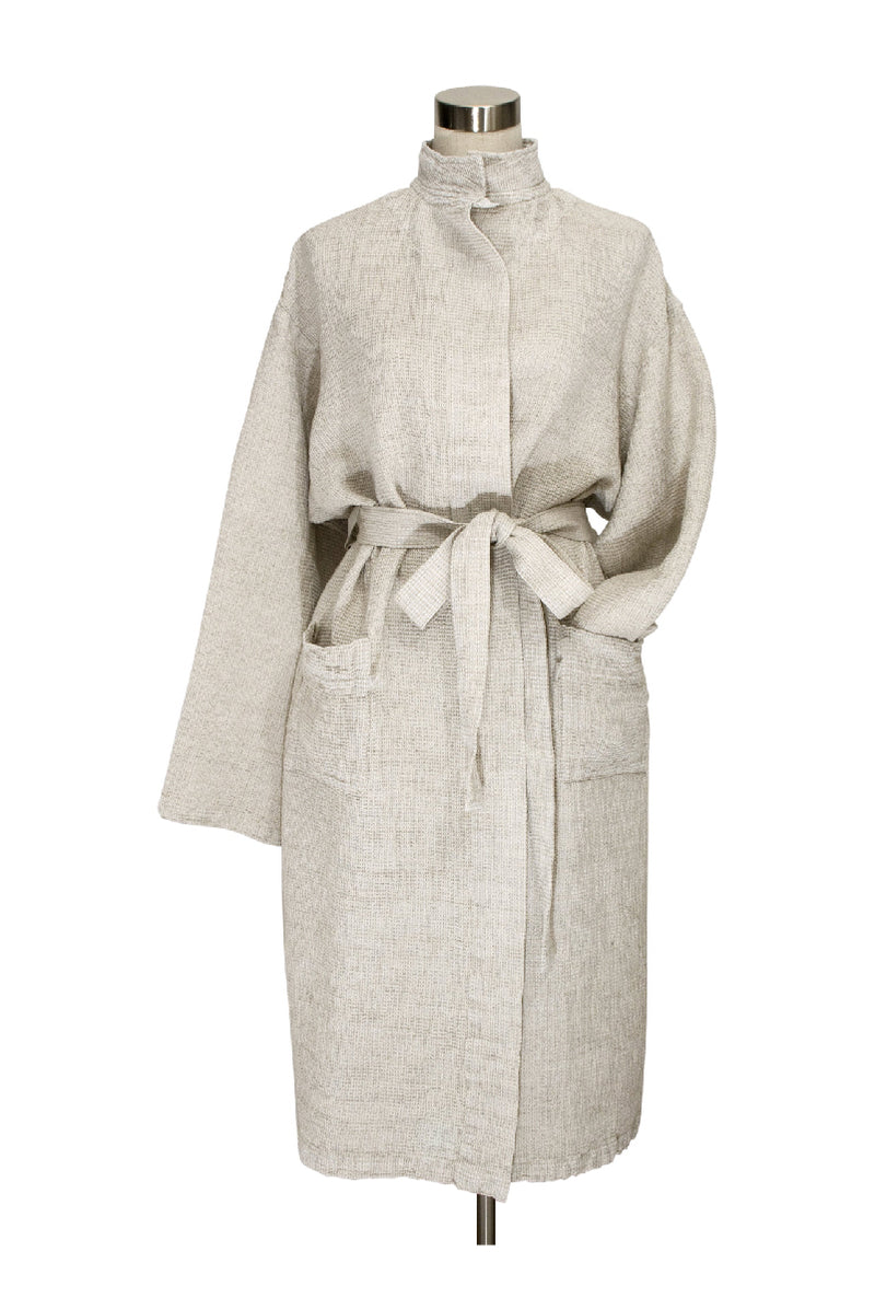 TERVA BATHROBE NATURAL