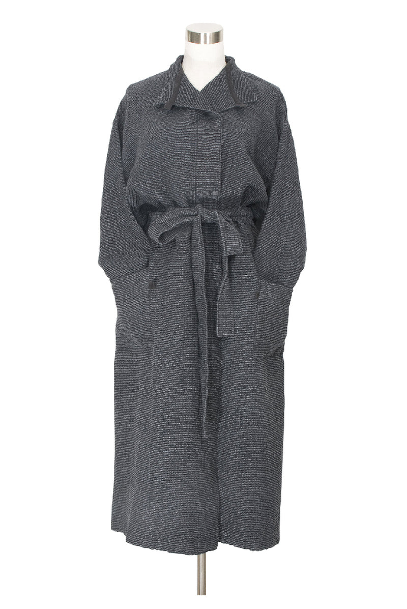 TERVA BATHROBE BLACK