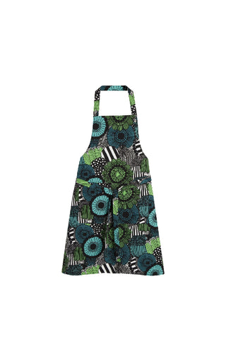 BASKET HALF APRON - DARK GREY, WHITE