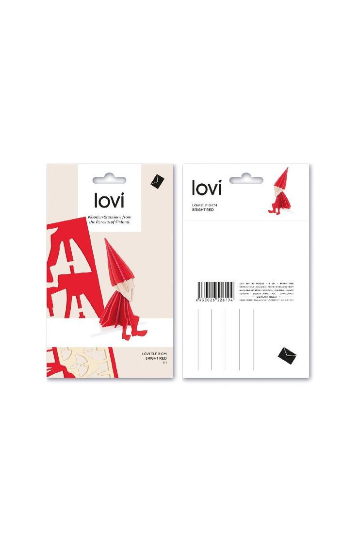 Lovi Elf 8 cm, Red