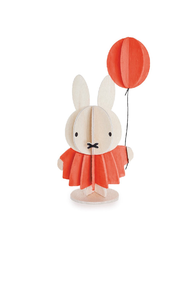 Lovi Miffy And Balloon, 13.5 cm