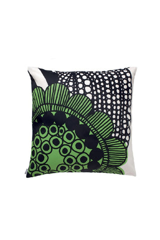 VELJEKSET COTTON PILLOW COVER, PURPLE BLACK 20 x 20
