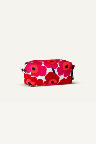 RELLE PIENI UNIKKO COSMETIC CASE, RED/WHITE