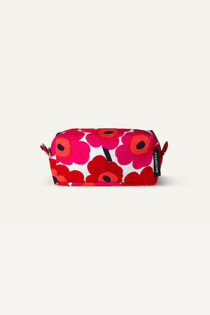 TIISE UNIKKO COSMETIC BAG, RED/ WHITE