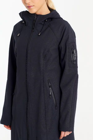ILSE JACOBSEN RAIN 37 LONG, DARK INDIGO