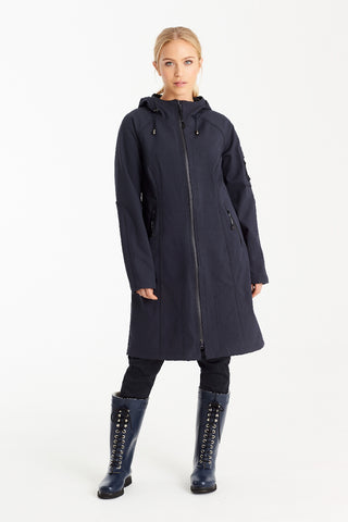 MOLLA WOOL COAT, LIGHT BLUE