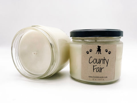 County Fair 8oz Candle Jar