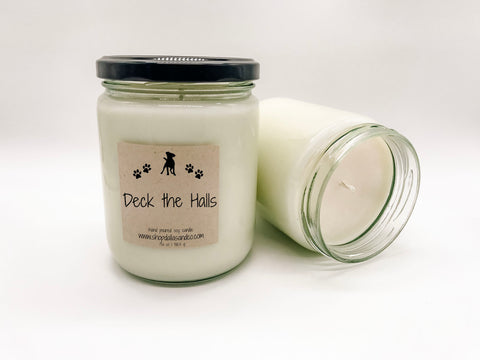 Deck the Halls 13oz Candle Jar