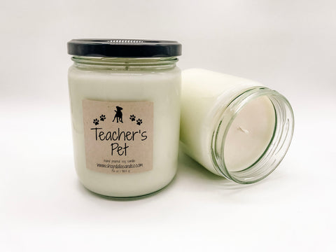 Teacher's Pet 13oz Candle Jar
