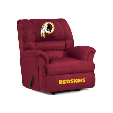 WASHINGTON REDSKINS BIG DADDY MICROFIBER RECLINER