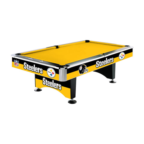PITTSBURGH STEELERS 8 ft. POOL TABLE