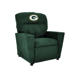 GREEN BAY PACKERS KIDS MICROFIBER RECLINER