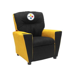 PITTSBURGH STEELERS KIDS FAN FAVORITE RECLINER MICROFIBER
