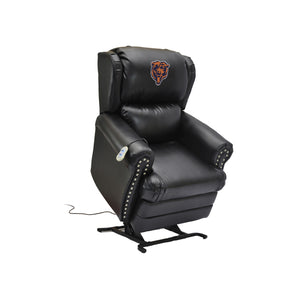 CHICAGO BEARS COACH LEATHER LIFT CHAIR