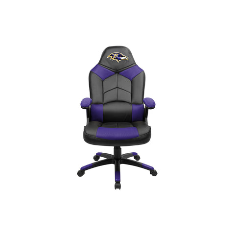BALTIMORE RAVENS OVERSIZED GAMING CHAIR