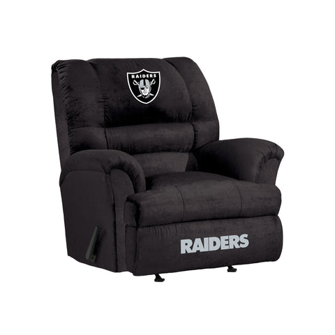 OAKLAND RAIDERS BIG DADDY MICROFIBER RECLINER