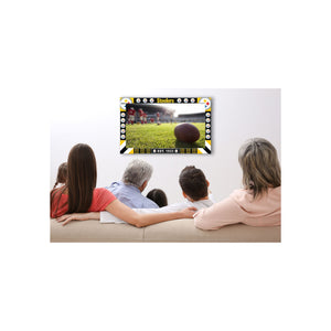 PITTSBURGH STEELERS BIG GAME TV FRAME