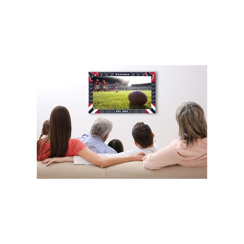 HOUSTON TEXANS BIG GAME TV FRAME