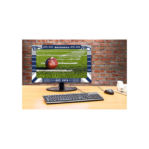 SEATTLE SEAHAWKS BIG GAME MONITOR FRAME