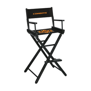 OKLAHOMA STATE UNIVERSITY DIRECTORS CHAIR-BAR HEIGHT