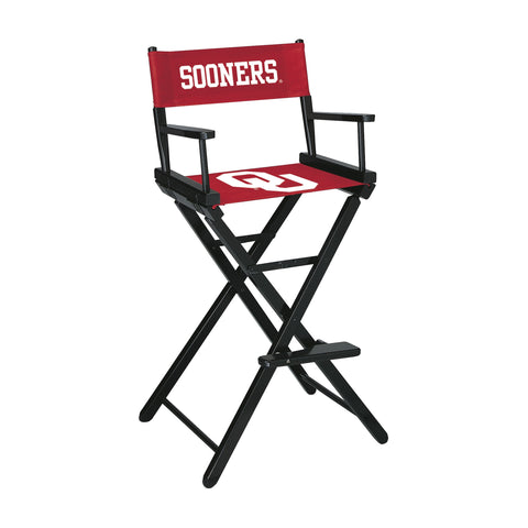 UNIVERSITY OF OKLAHOMA DIRECTORS CHAIR-BAR HEIGHT