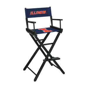 UNIVERSITY OF ILLINOIS DIRECTORS CHAIR-BAR HEIGHT