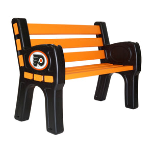 PHILADELPHIA FLYERS PARK BENCH